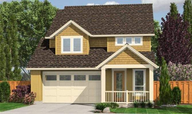 House Plan Garage Below
