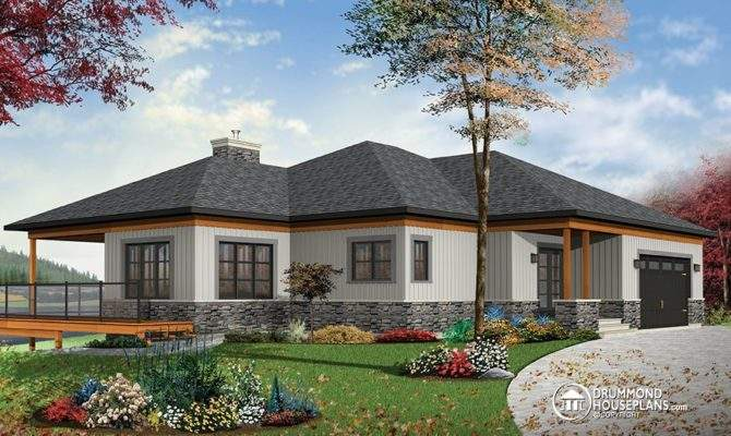 House Plan Large Covered Terrace Drummond Plans Blog