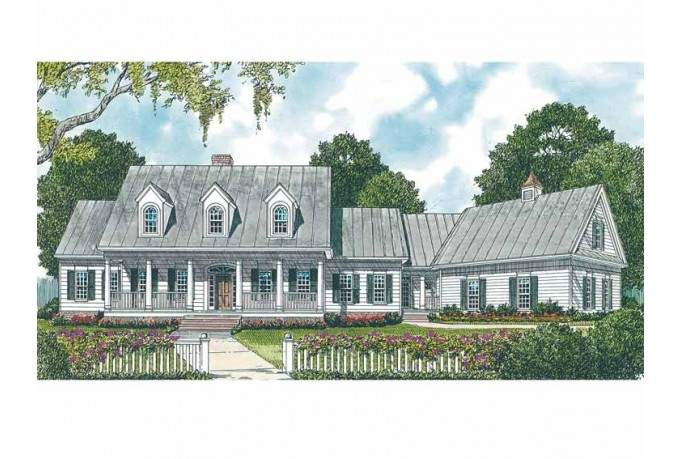 House Plan Rustic Farmhouse Square Feet Bedrooms