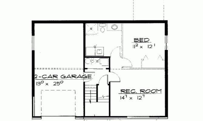House Plan Two Bedroom Contemporary Square Feet Bedrooms