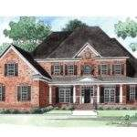 House Plan Wonderful Wrap Around Porch Square Feet