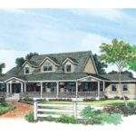 House Plan Wraparound Porch Square Feet Bedrooms