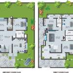 House Plans Bungalow Home Designs Modern Open Floor