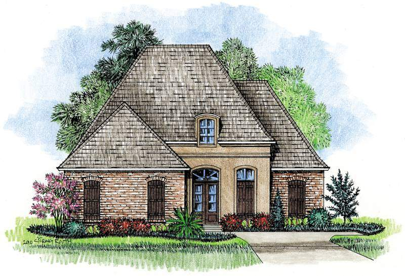 House Plans Country French Home Luxury More