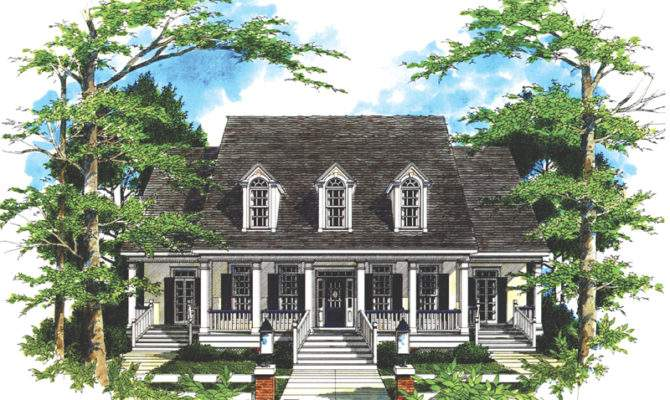House Plans Country Plantation More