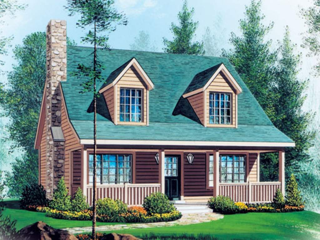 House Plans Country Style Modern Cape Cod Homes