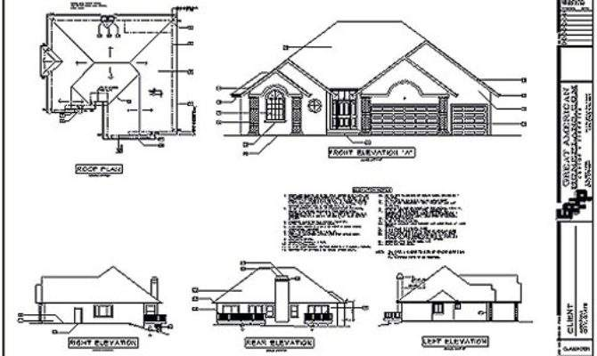 House Plans Elevations Homes Floor