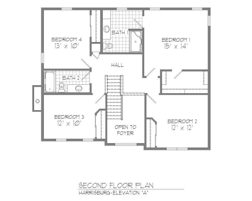 House Plans Master Suite Second Floor Only