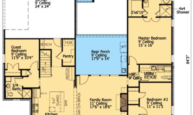 House Plans Separate Guest