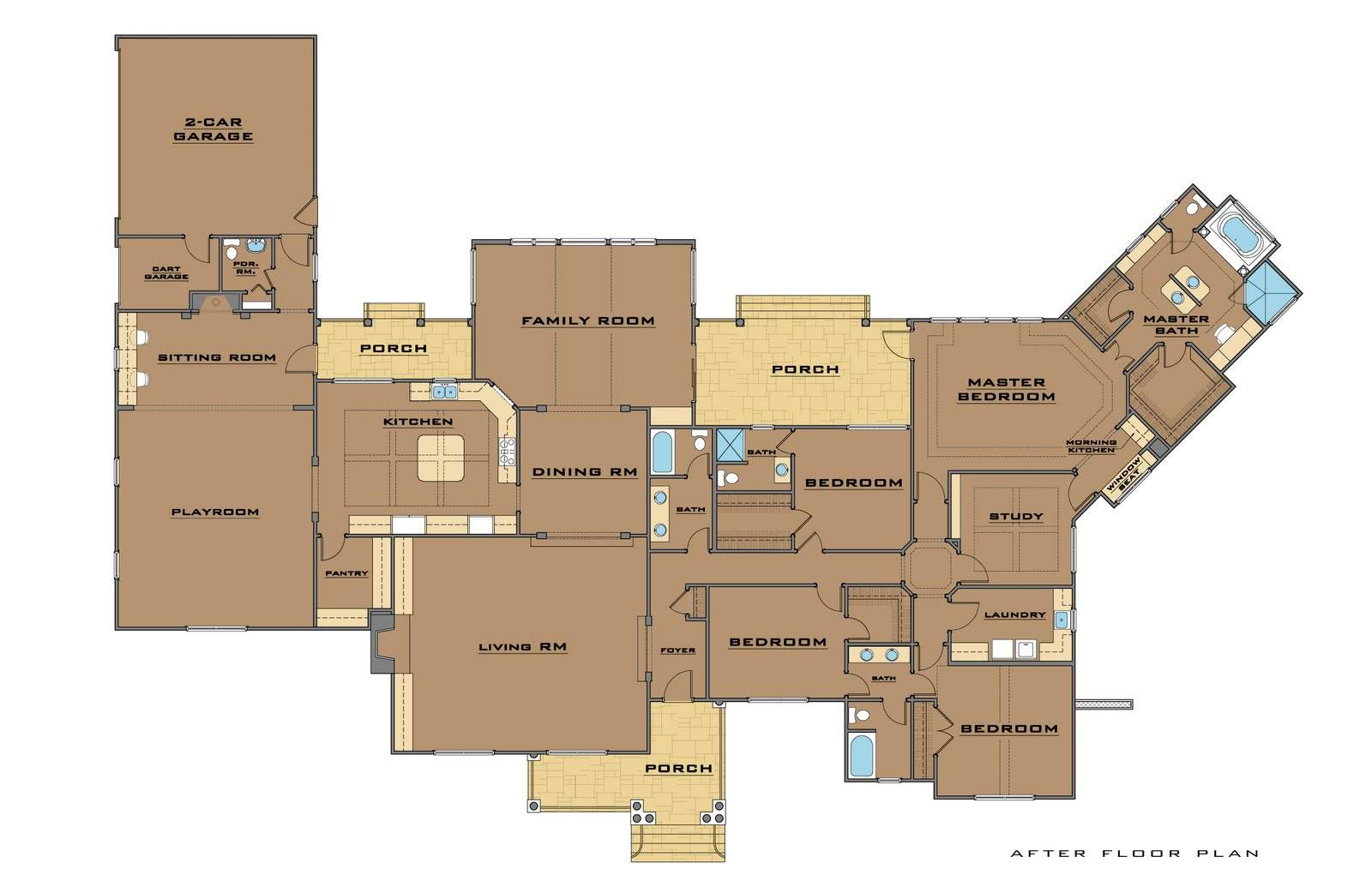House Plans Two Master Suites Further