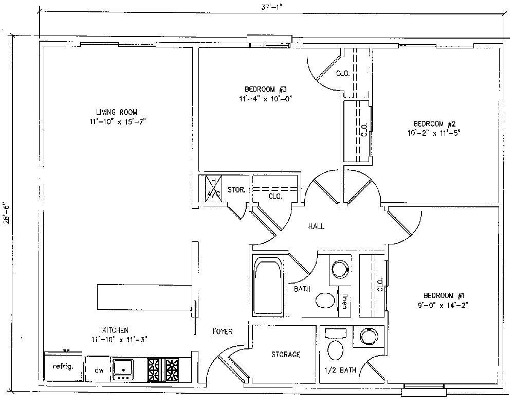 House Plans Under Square Feet
