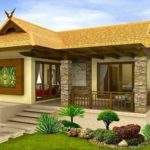 House Simple Bungalow Designs Small Beautiful