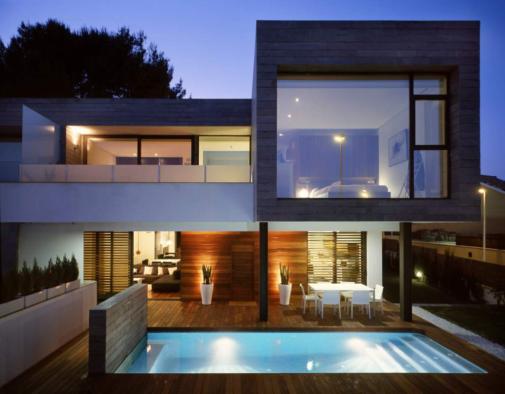 Houses Semi Detached Homes United Matching Contemporary