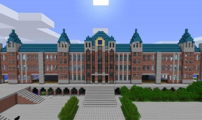Huge Mansion Minecraft Project
