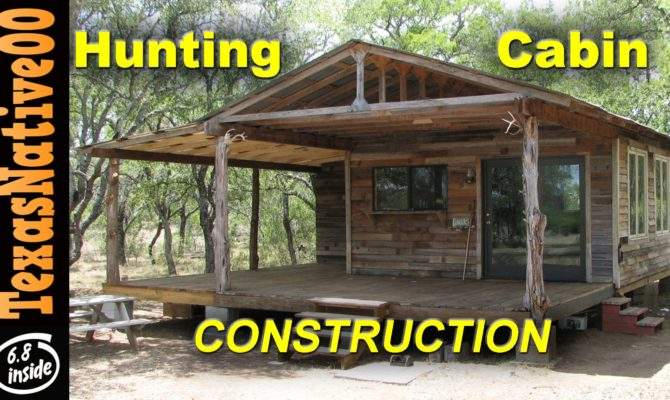 Hunting Cabin Construction Tour Part Youtube