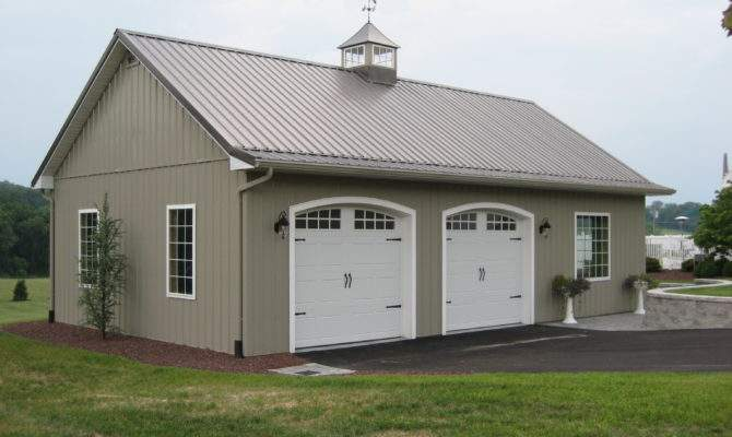 Ideas Pole Barn Garage Pinterest