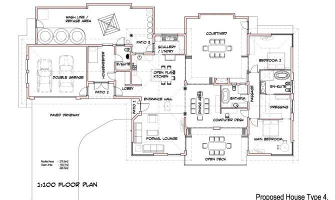 Impressive Basic House Plans Simple Ranch Floor