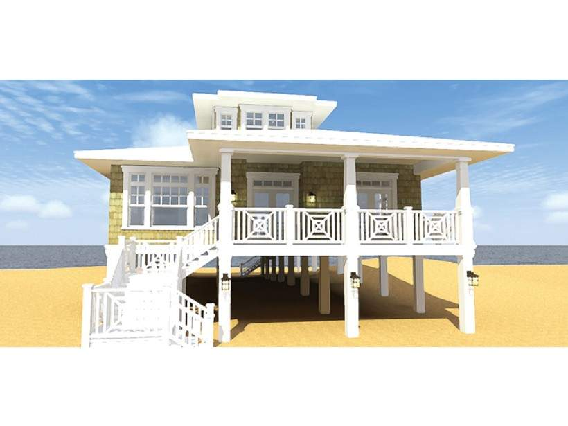 Impressive Beach House Plans Piers Low Country