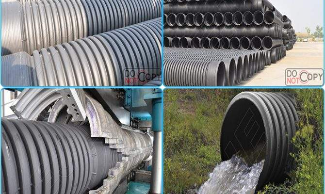 Inch Flexible Corrugated Drain Pipe Hdpe Drainage