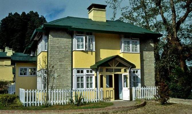 India West Bengal Darjeeling British Colonial Style House