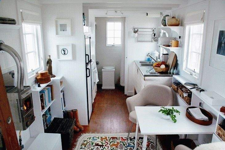 Inside Very Small Travel Trailer Camping Pinterest