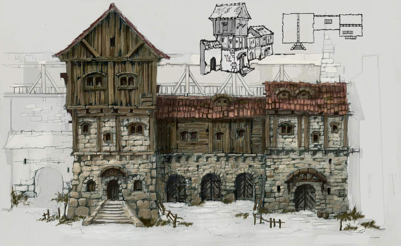 Inspiration Medieval Buildings Scale