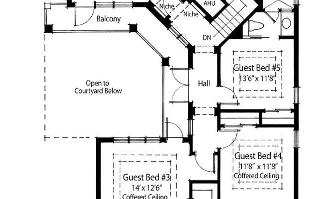 Inspiring Bedroom Country House Plans