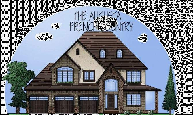 Inspiring Custom French Country House Plans