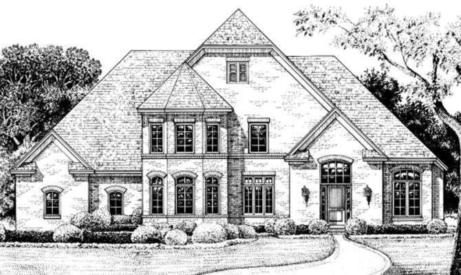 Inspiring House Plans Turrets Home