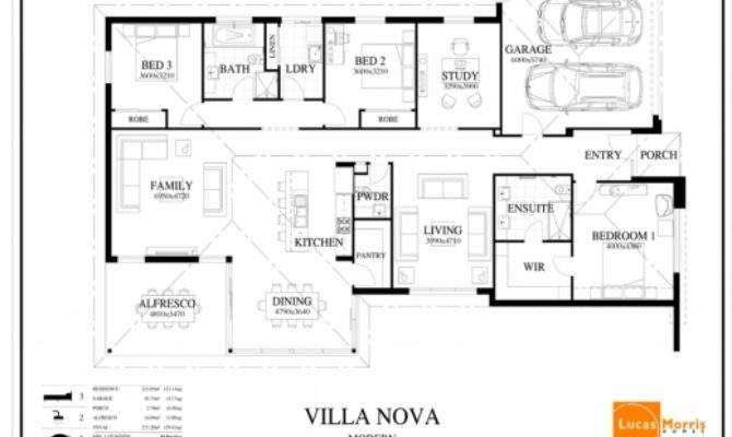 Inspiring Luxury Contemporary One Story House Plans Arts