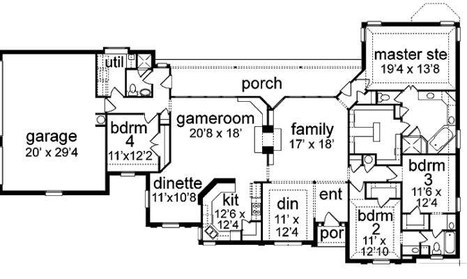 Inspiring Space Efficient House Plans Home