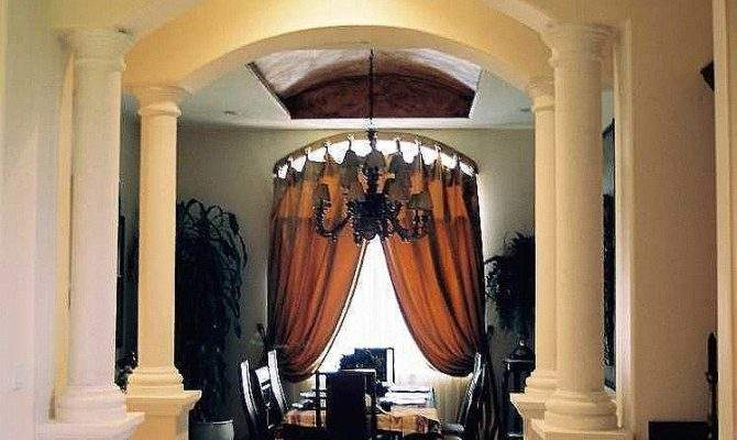 Interior Columns Features Many Homes Like Type Houses