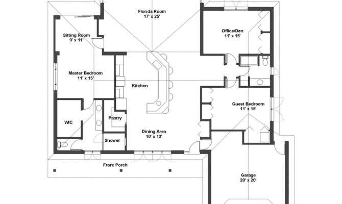 Interior Design Simple One Story House Plans
