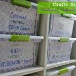 Jong Dream House Printable Project Box Labels