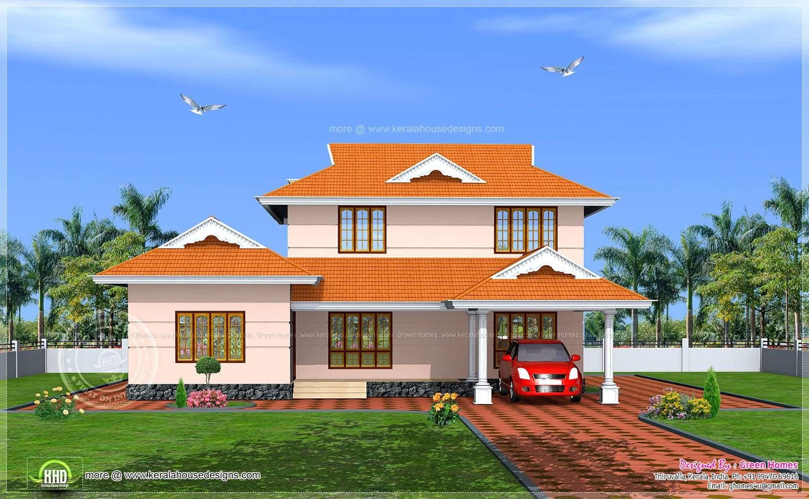 Kerala Model House Plans Android Iphone Ipad