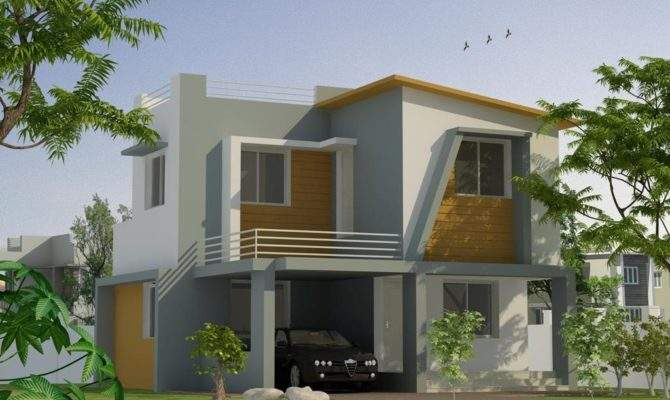 Kerala Two Storey House Elevation Design