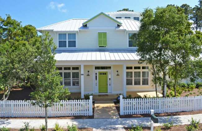 Key West Style Homes Paradise South Beach Have Many
