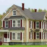 Kim Victorian House Kit Bollinger Edgerly Scale Trains