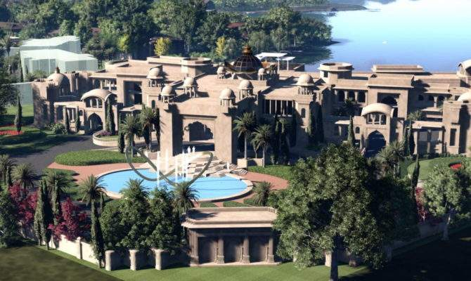 Kiran Patel Huge Florida Mansion Modern Day Palace