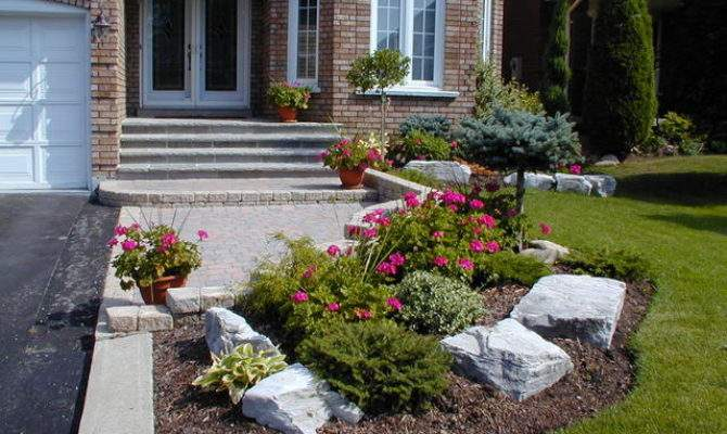 Landscape Ideas Sloped Front Yard Totally
