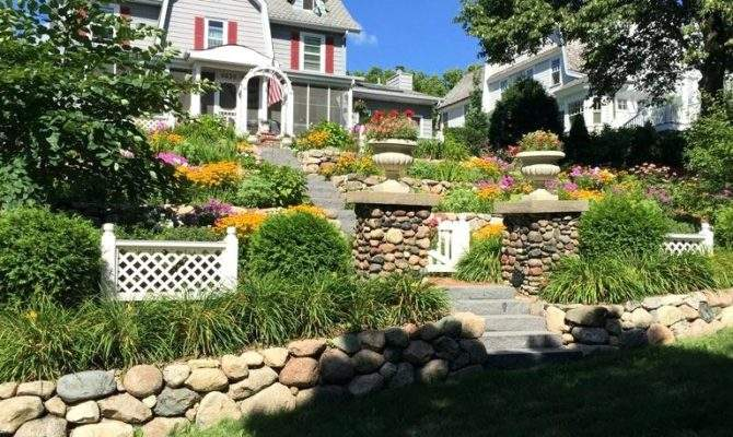 Landscaping Front Yard Slope Ideas