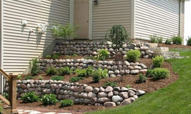 Landscaping Steep Walk Out Basement Yard Google