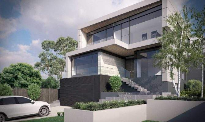 Large Ultra Modern House Plans Home Deco