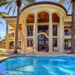 Lauderdale Mediterranean Style Estate Beautiful Grand Staircase
