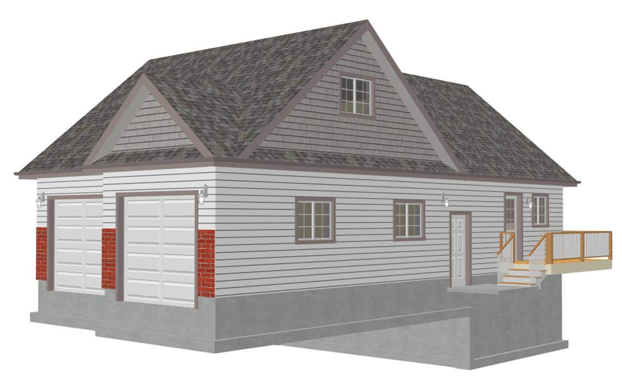 Law Apartment Garage Plans Loft
