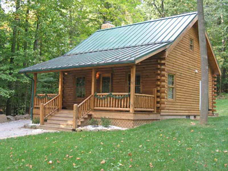 Log Cabin Kits Build Small Blue Ridge