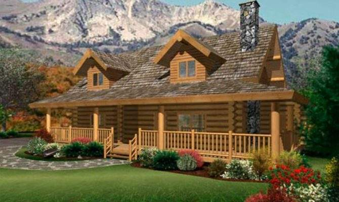 Log Home Floor Plan Caribou Creek Timber Handcrafted