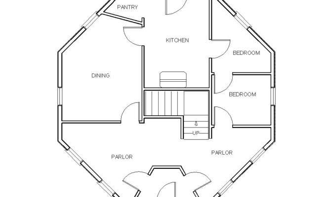 Lovely Octagon Home Plans House Floor
