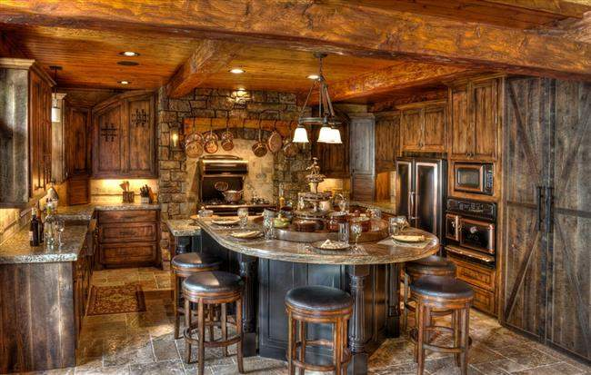 Luxurious Country House Rustic Awe Homesfeed