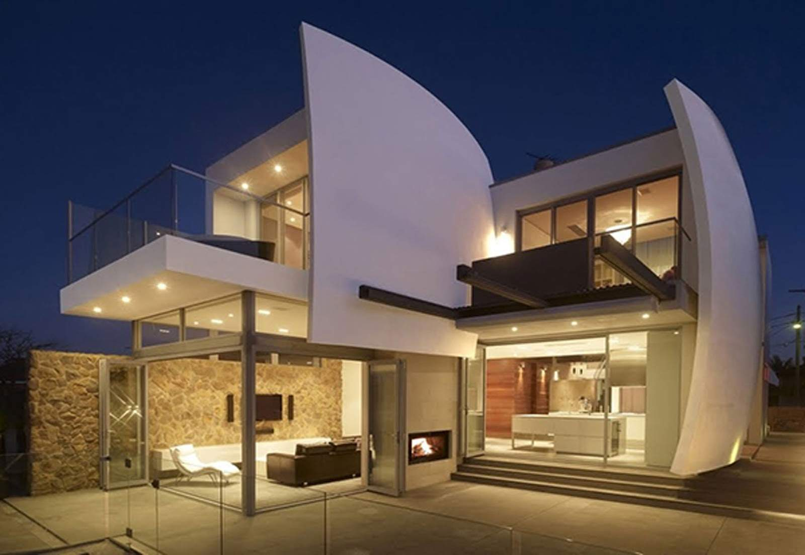 Luxury Home Futuristic Architecture Design Homevero